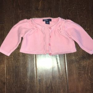 Pink babyGap 0 to 3 months sweater
